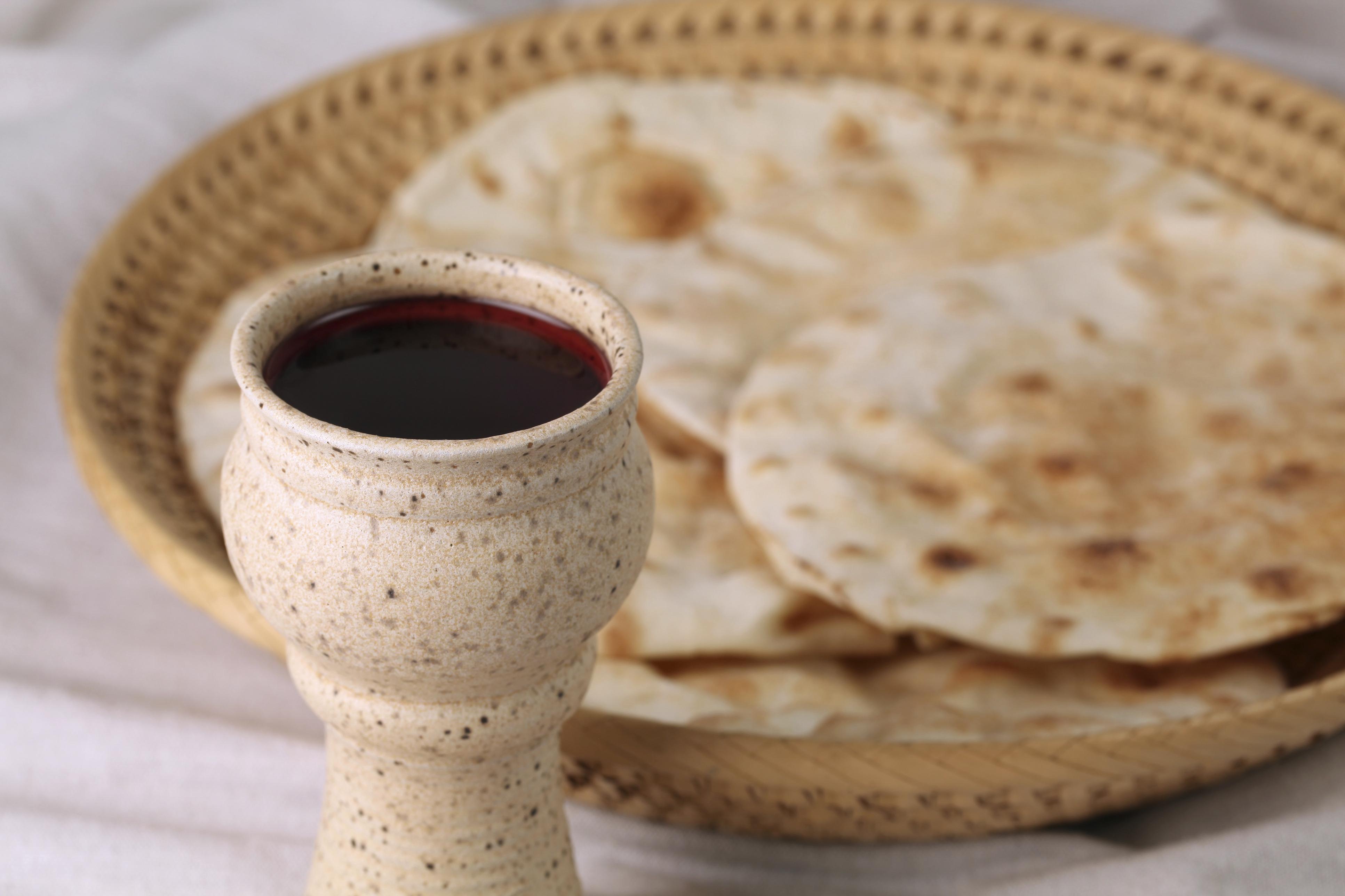Shalem Institute Communion Bread Wine