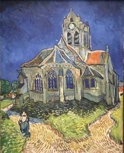 L'Englise d'Auvers-sur-Oise van Gogh Photo; Mary van Balen