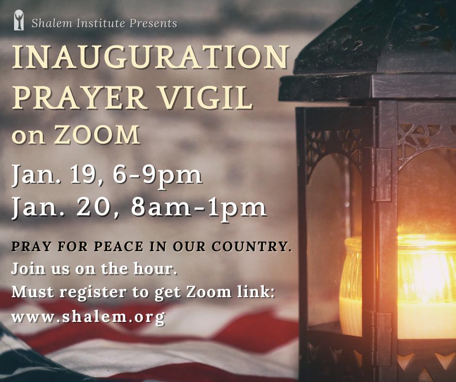 Inauguration Prayer Vigil